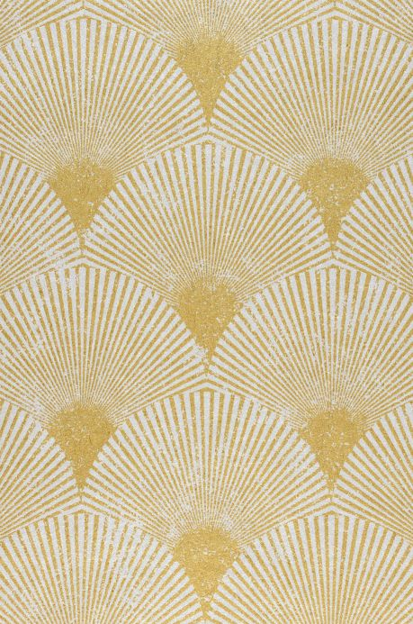 Glamorous wallpaper Wallpaper Helene pearl gold A4 Detail