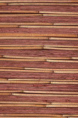 Carta da parati Natural Bamboo 02 rosso marrone Ritaglio A4