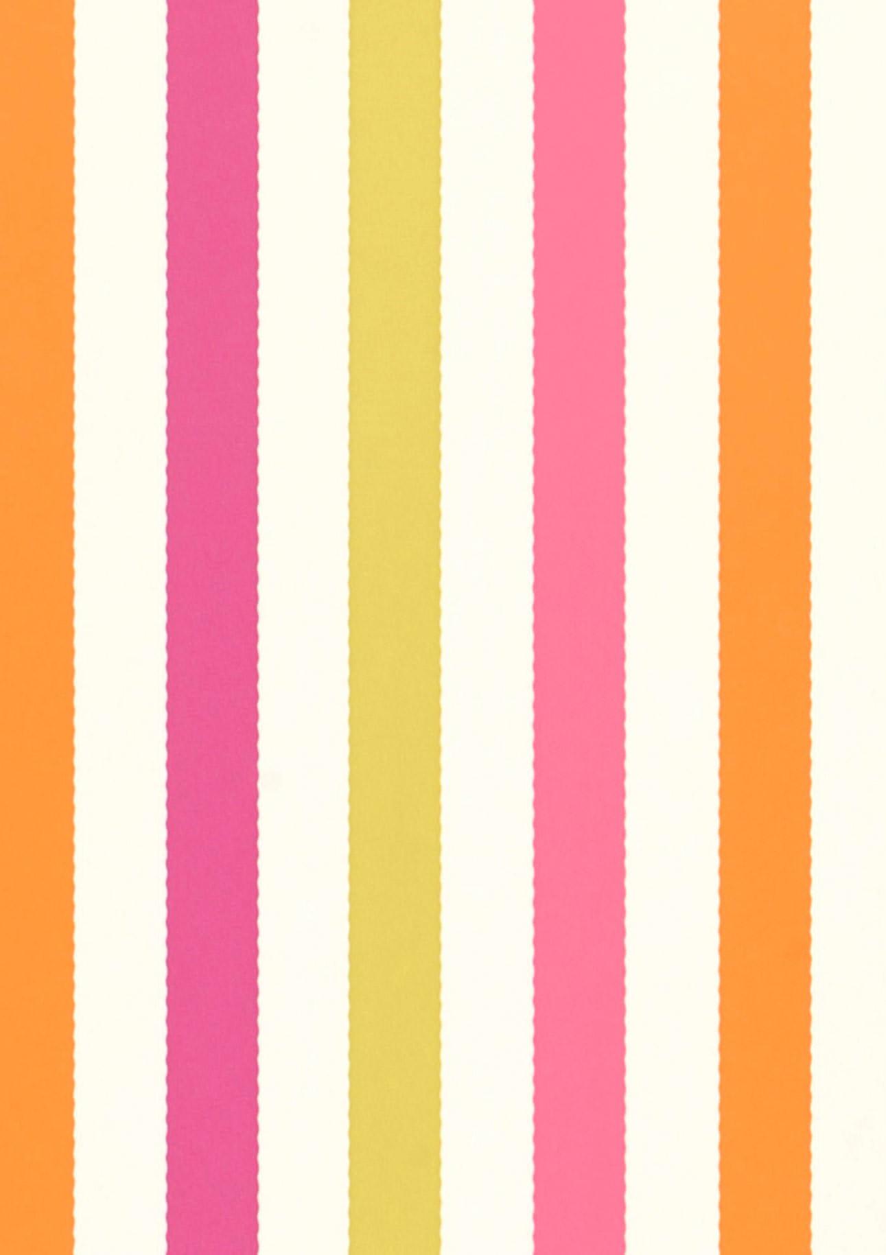 Papier peint hanka blanc cr me vert jaune magenta orange papier peint des ann es 70 - Largeur d un rouleau de papier peint ...