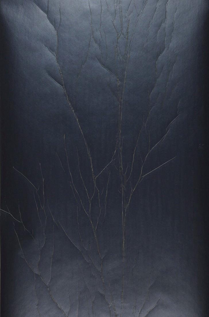papier peint crush tree 02 anthracite gris beige. Black Bedroom Furniture Sets. Home Design Ideas