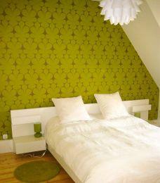 Wallpaper Velusa yellow green