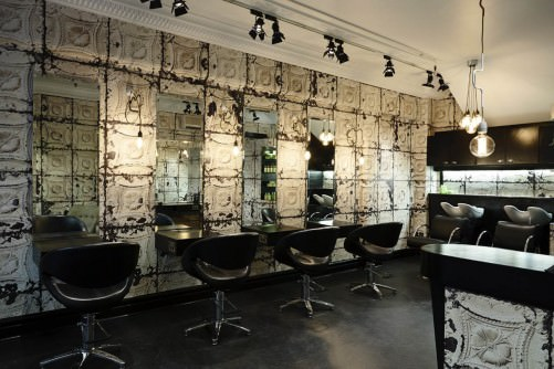Design Wallpapers For Hair Salons Etc Attraction Trademark And