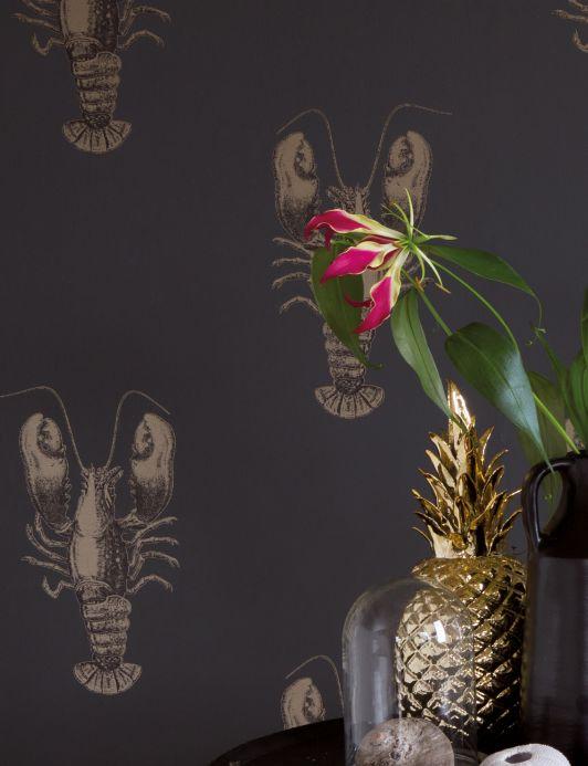 Archiv Papel pintado Zisani oro perla Ver habitación
