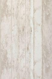 Papier peint Wood Effect beige gris pâle