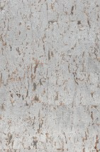 Wallpaper Cork on Roll 02 Shimmering Solid colour Silver grey Beige Silver metallic
