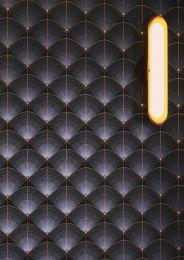 Wallpaper Hiromono black blue