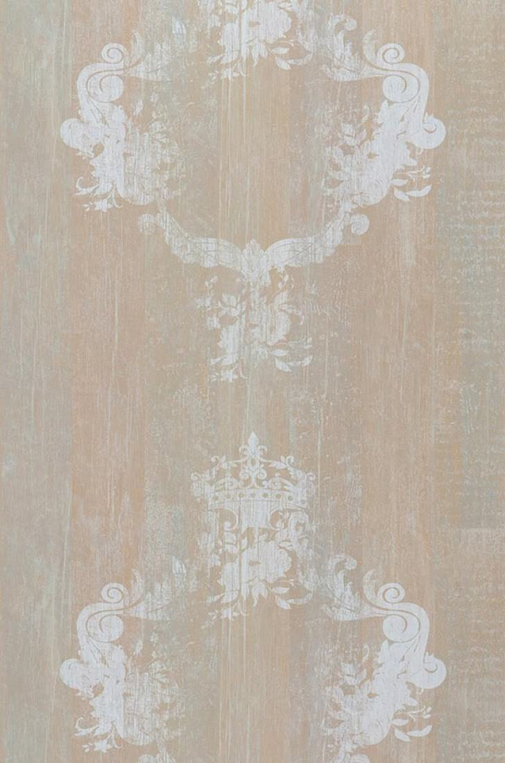 Wallpaper vintage brown beige grey white wallpaper Papel pintado anos 70
