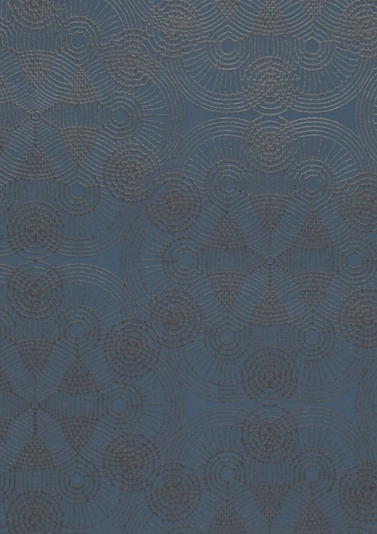 Tapete imalas taubenblau anthrazit tapeten der 70er for Tapete taubenblau