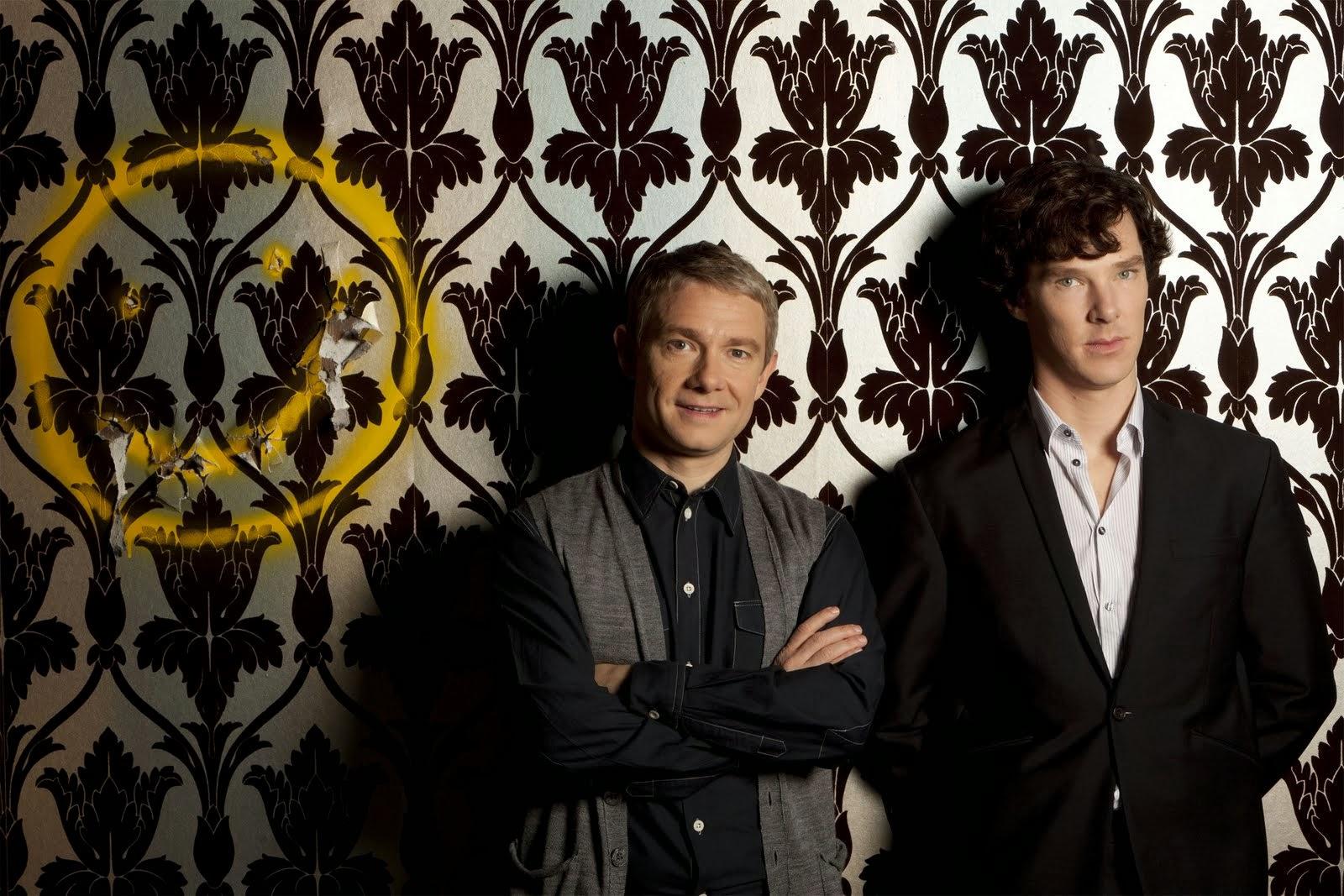 Sherlock tapete bbc serie barocke ornamente vliestapete braun flock