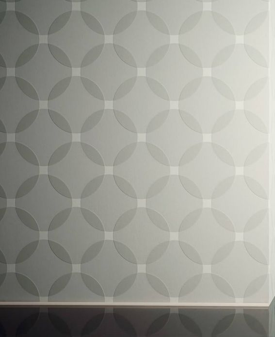 Archiv Wallpaper Maude agate grey Room View