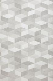 Papel pintado Karlo tonos de gris
