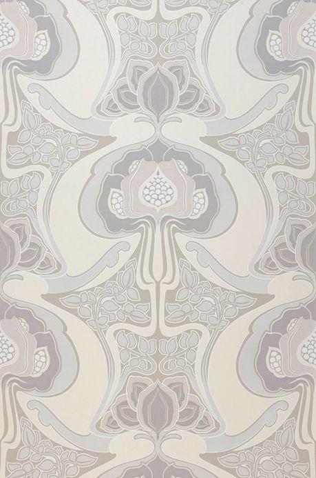 Archiv Papier peint Tereza gris Largeur de lé