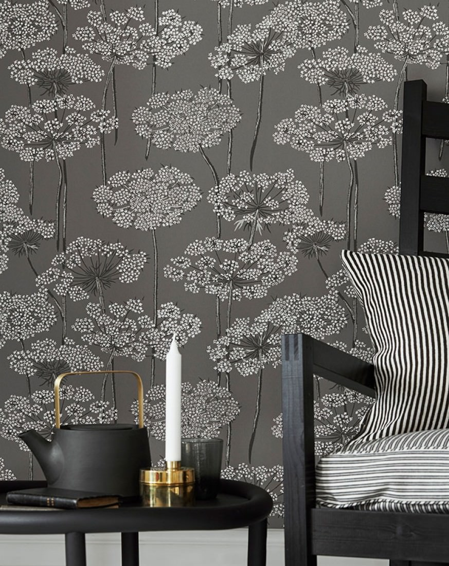 tapete esoka grau anthrazit grauweiss hellgrau. Black Bedroom Furniture Sets. Home Design Ideas