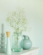 Wallpaper Artemis Shimmering Stripes Pastel green glitter Pastel green shimmer