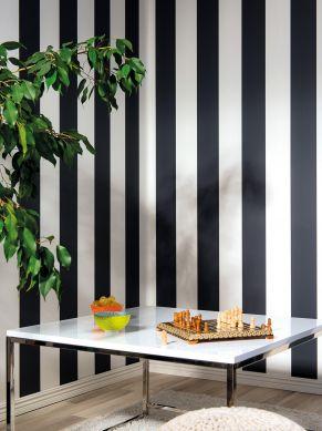 Papel pintado Rigobert negro Ver habitación