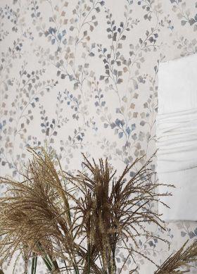 Wallpaper Canopy violet blue Raumansicht