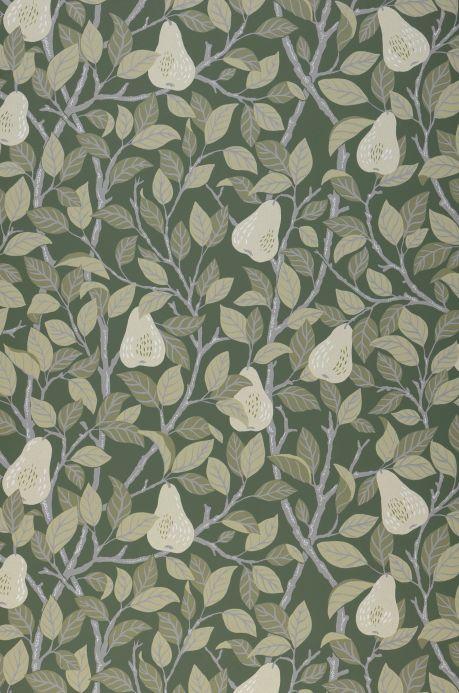 Wallpaper Wallpaper Estelle dark green Bahnbreite
