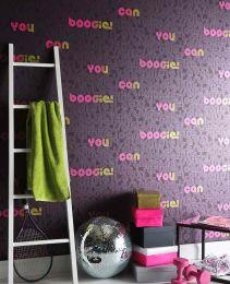 Papel de parede Saturday Night rosa