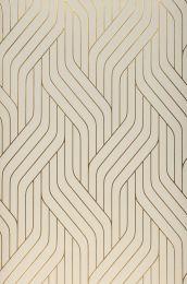 Papier peint Flapper blanc crème