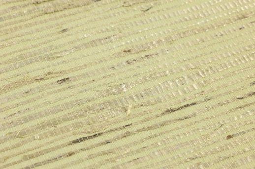 Tapete Grasscloth 04 Hellgrün Detailansicht