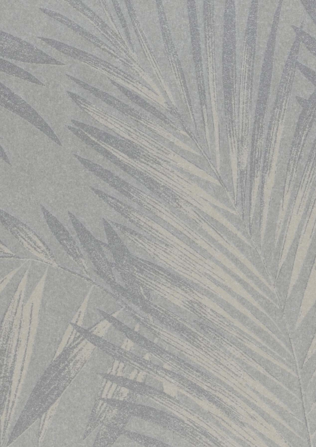 Aria bianco grigiastro avorio chiaro argento brillante for Carta parati argento