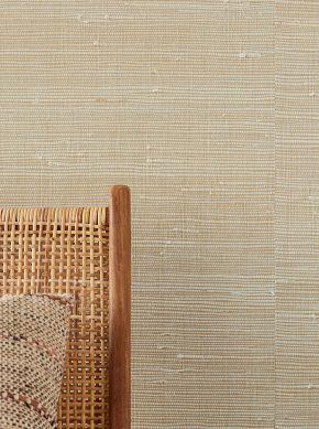 Papel de parede Grass on Roll 10 marfim Raumansicht