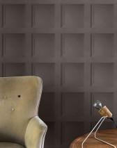 Wallpaper Avilio Matt Wall panels Umbra grey