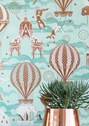 Wallpaper Rosi light green