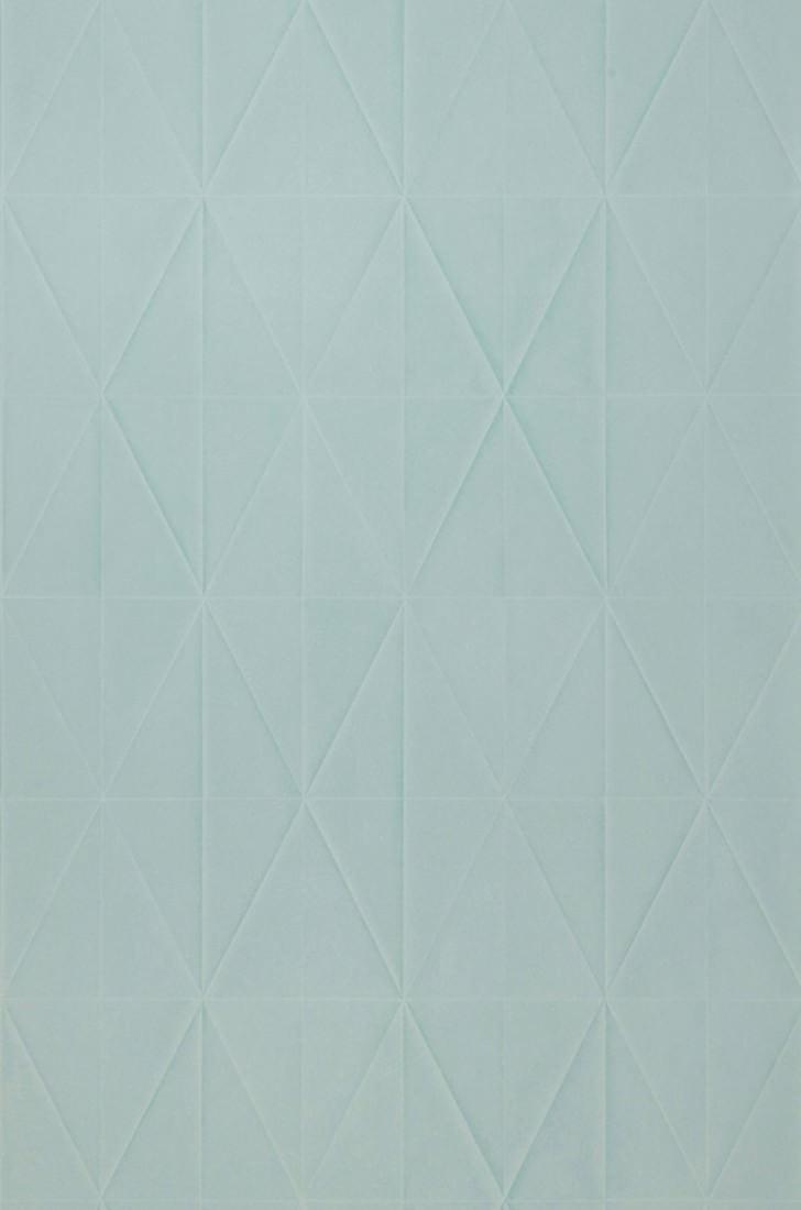 Papel pintado origami turquesa menta papeles de los 70 - Papel pintado de los 70 ...