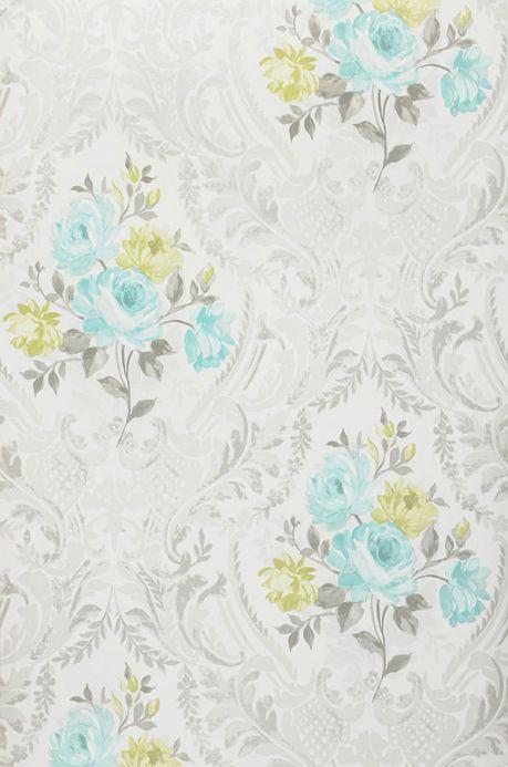 Archiv Papier peint Meoni turquoise pastel Largeur de lé