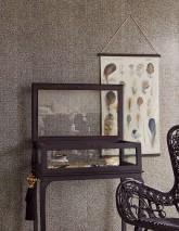 Papel de parede Noemi Efeito holograma Elementos gráficos Preto Prateado cintilante