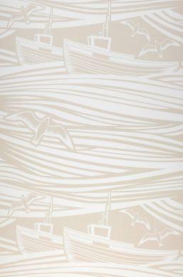 Wallpaper Ulysses light beige Bahnbreite