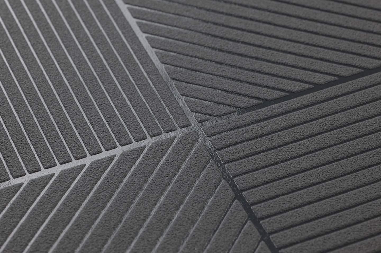 covin anthrazitgrau dunkelgrau geometrische tapeten. Black Bedroom Furniture Sets. Home Design Ideas
