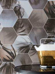 Papel de parede Ubongo cinza pardo