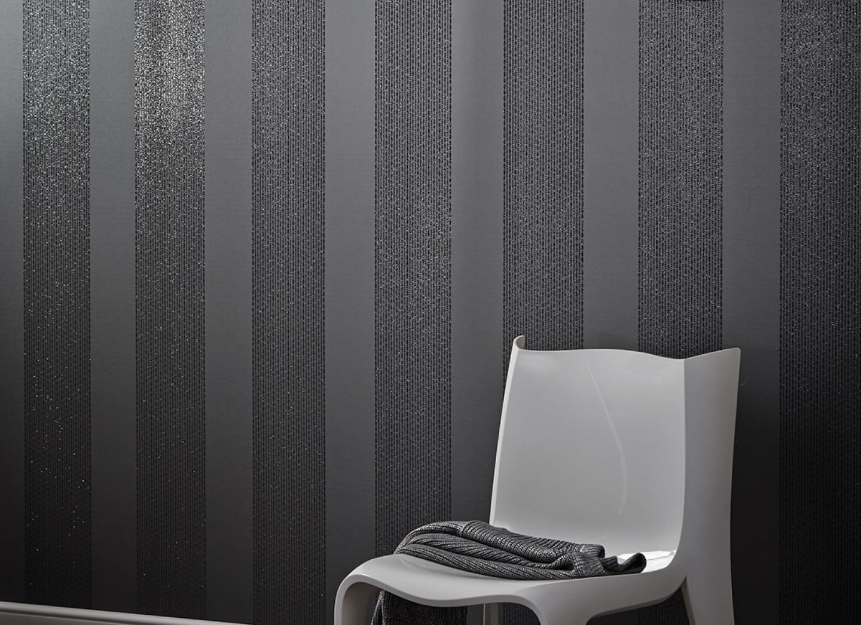 tapete mendrik dunkelgrau anthrazitgrau glitzer tapeten der 70er. Black Bedroom Furniture Sets. Home Design Ideas
