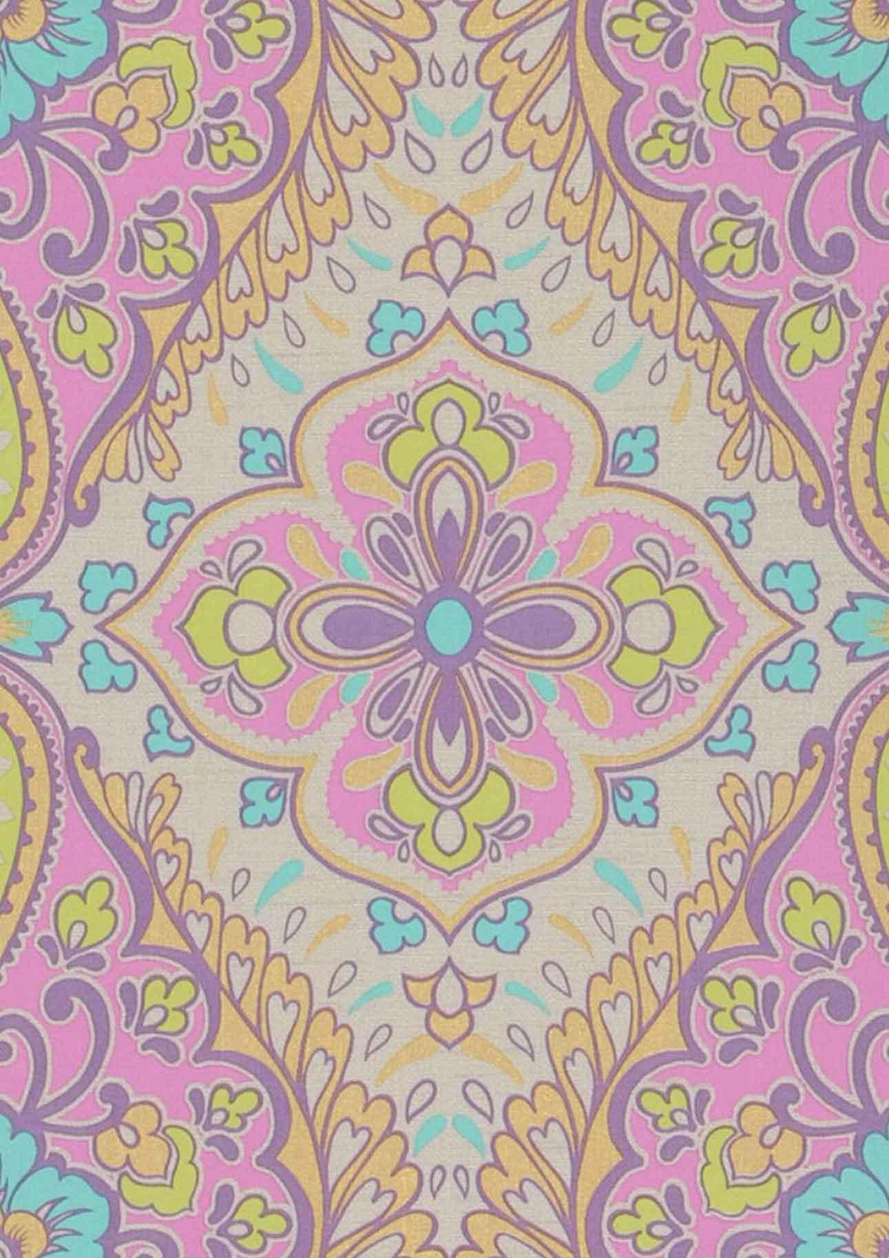 Orientalische Ornamente Tapete : Rosmerta Barock Tapeten Tapetenmuster Tapeten der 70er