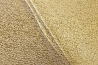 Wallpaper Kadmos Matt Imitation leather Curry yellow Green brown