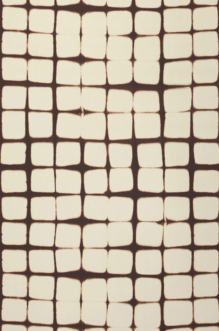 Papel pintado zenun blanco crema marr n chocolate for Papel pintado marron chocolate