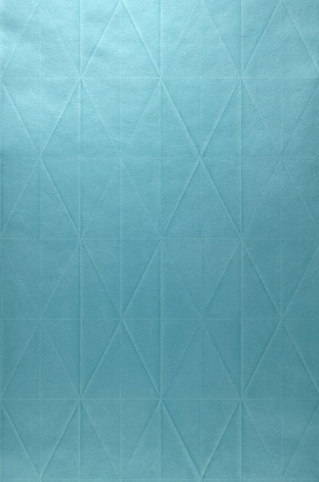 Wallpaper Origami Shimmering Graphic elements Origami Turquoise blue
