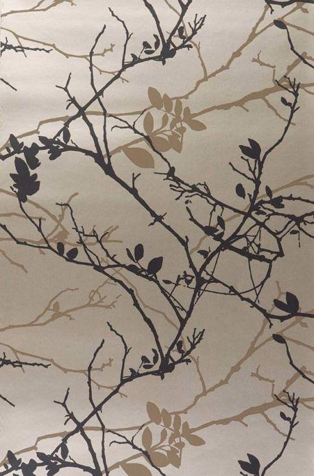 Archiv Papier peint Epona brun pâle Largeur de lé