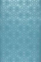 Papel pintado Imalas Patrón brillante Superficie base mate Círculos Elementos modernos Azul turquesa Azul plateado