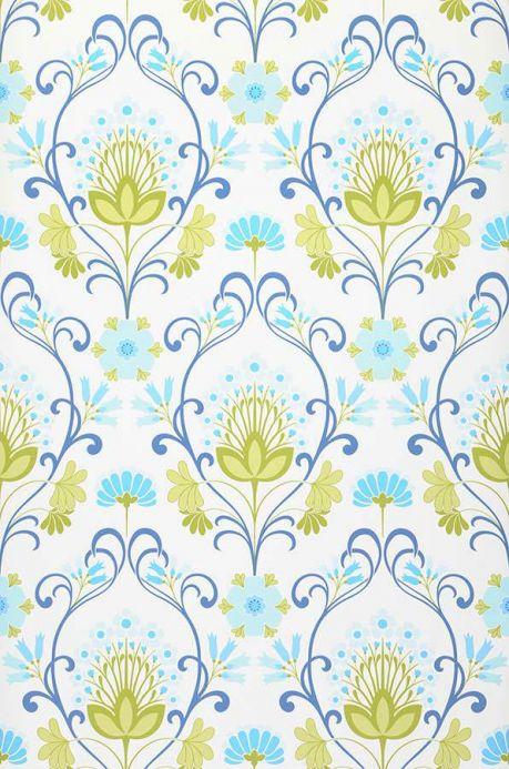 Archiv Papier peint Anika bleu clair Largeur de lé