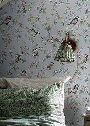 Wallpaper Loredana light grey