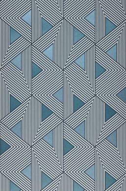 Wallpaper Elias shades of blue Roll Width