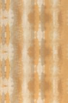 Wallpaper Alika Matt Looks like textile Batik style Stripes Beige Grey beige Light ivory Ochre