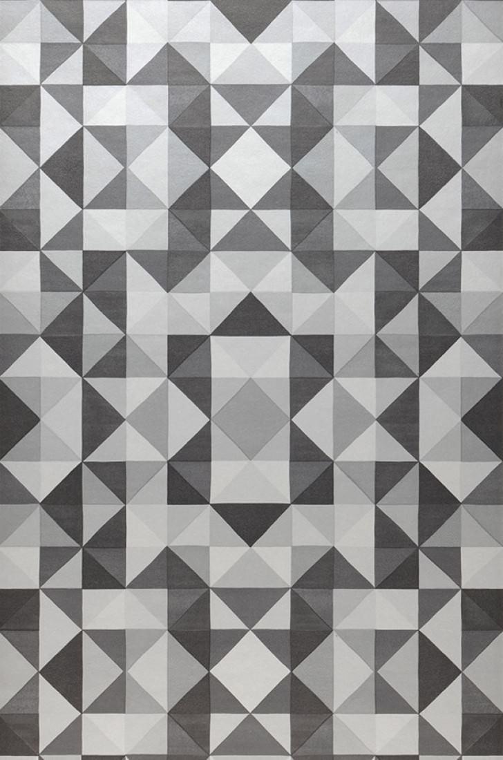 Papel pintado sirius blanco crema tonos de gris for Papel pintado de los 70
