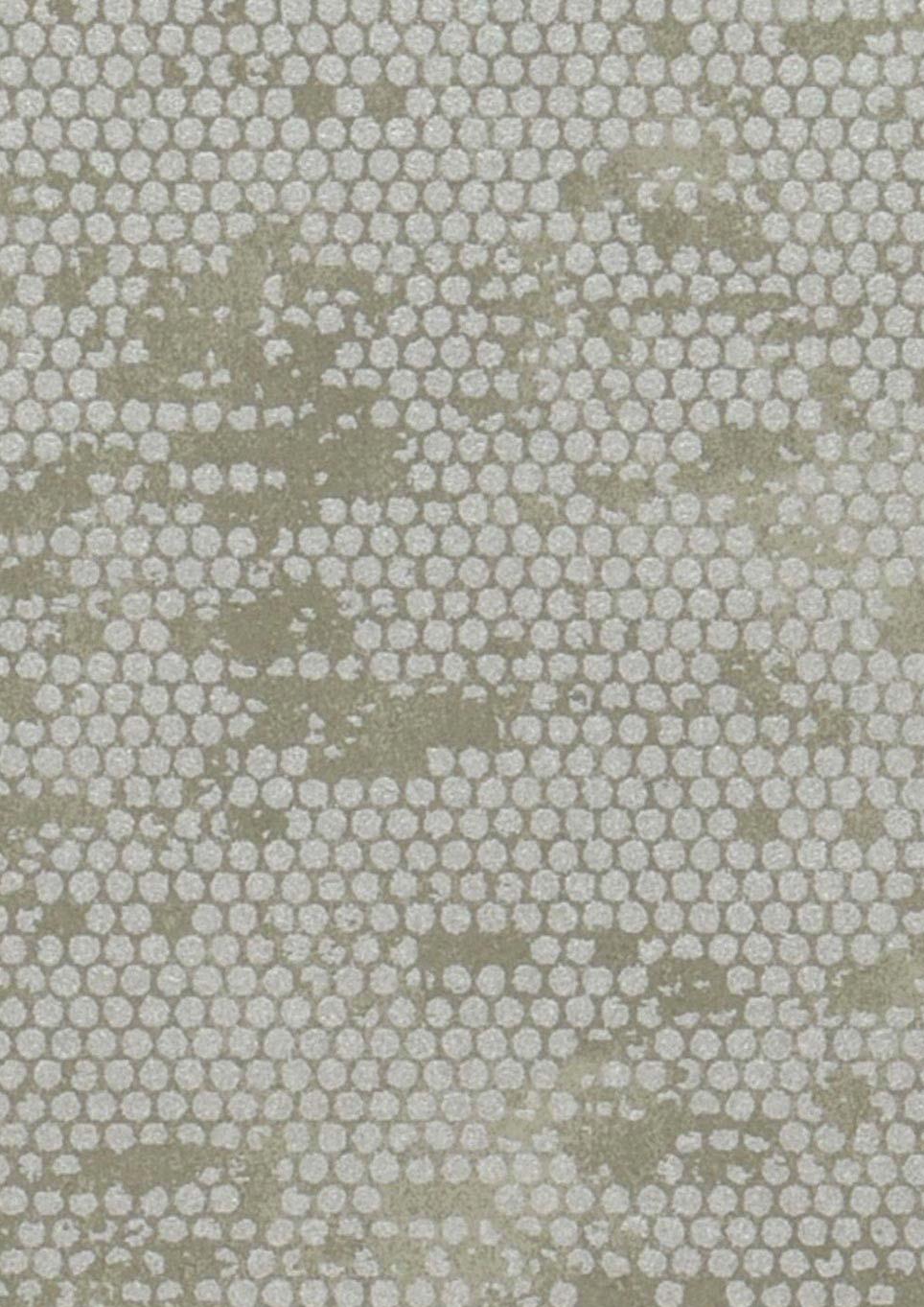 Carta da parati ikebana grigio muschio argento carta for Carta parati argento