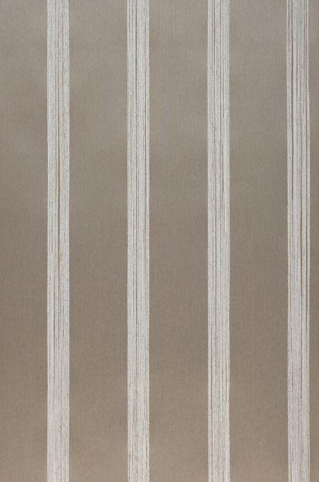 Papel pintado textil Papel pintado Severus gris beige claro Ancho rollo