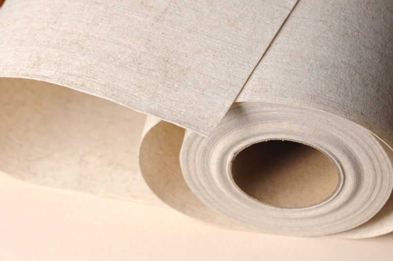 Papel pintado totalmente compostable - Veruso Lino