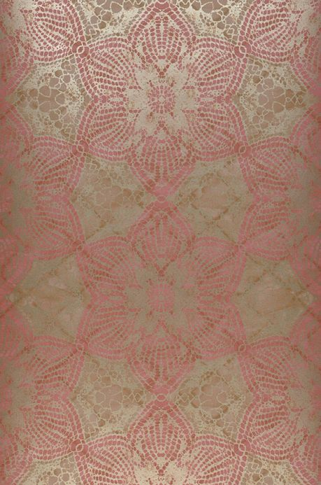 Oriental Wallpaper Wallpaper Marrakesh antique pink Roll Width